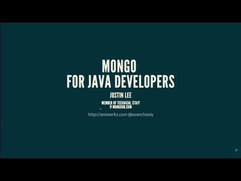 Getting Started with MongoDB and Java