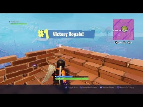 Fortnite First game on part 2/2