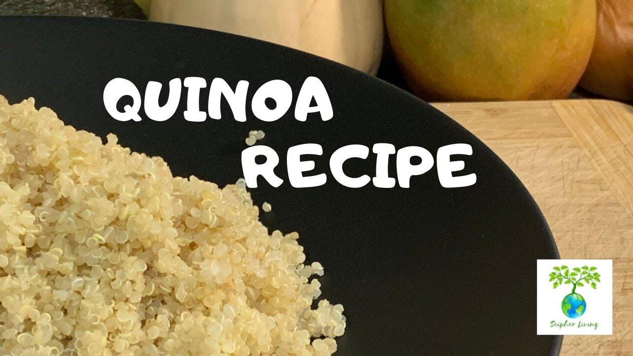 BASIC QUINOA RECIPE