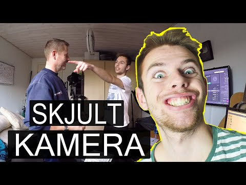 skjult kamera video