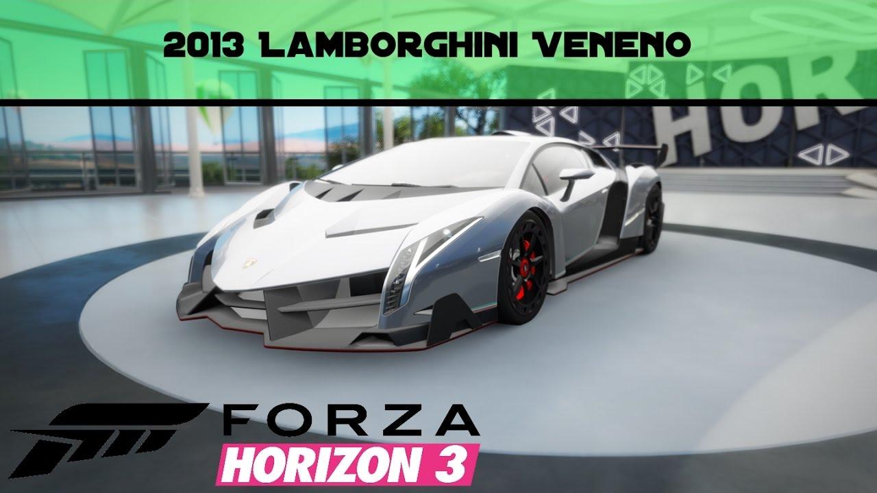Forza Horizon 3 Lamborghini Veneno