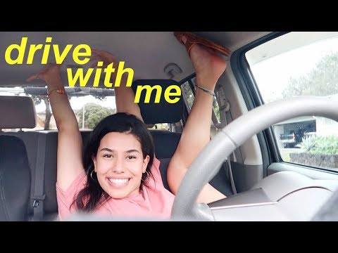 DRIVE WITH ME + current music playlist 2018 | Ava Jules
