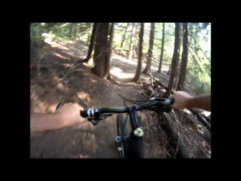 Mountain Bike Sherwood Forest Trails Sandpoint Idaho Youtube