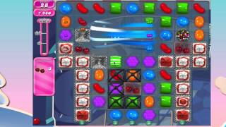 Candy Crush Saga Level 837 No Booster 6 moves left