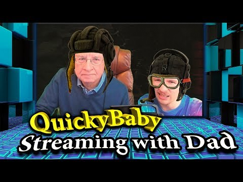 QuickyBaby 💥 | Stream With Daddy | Best Moments