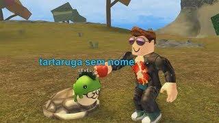 ROBLOX: VIEJO HOMBRE EN la isla de las tortugas