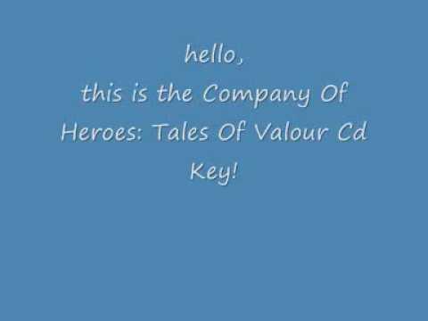 Company Of Heroes Tales Of Valour Cd Key Youtube