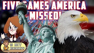 5 Games America Missed ft. Red Bard |8 Bit Brody|