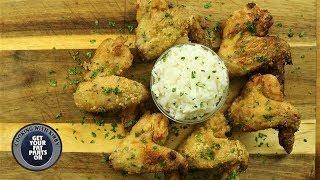 Asian Spicy Garlic wings - Air Fryer Recipe - Nuwave Brio 10 Quart