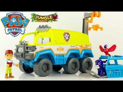 Pat Patrouille Camion Tout Terrain Patrouilleur Jungle Rescue Paw Patrol Vehicle Review Jouets
