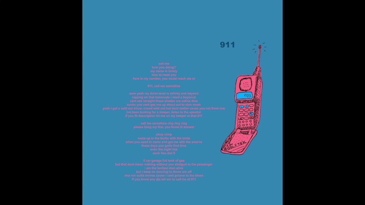 Tyler, The Creator - 911 / Mr. Lonely (Audio)