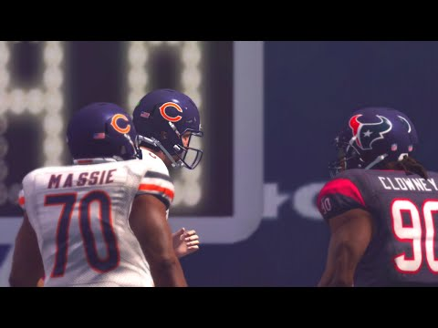Madden NFL 17 Week 1 Chicago Bears vs Houston Texans