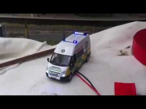 Oxford Diecast Loch lomond rescue transit