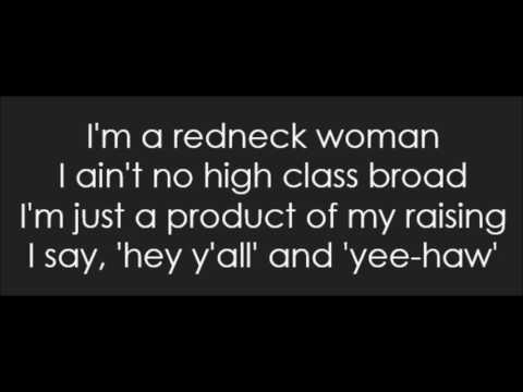 Gretchen Wilson - Redneck Woman (Lyrics)