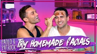 Husbands Try Homemade Facials!