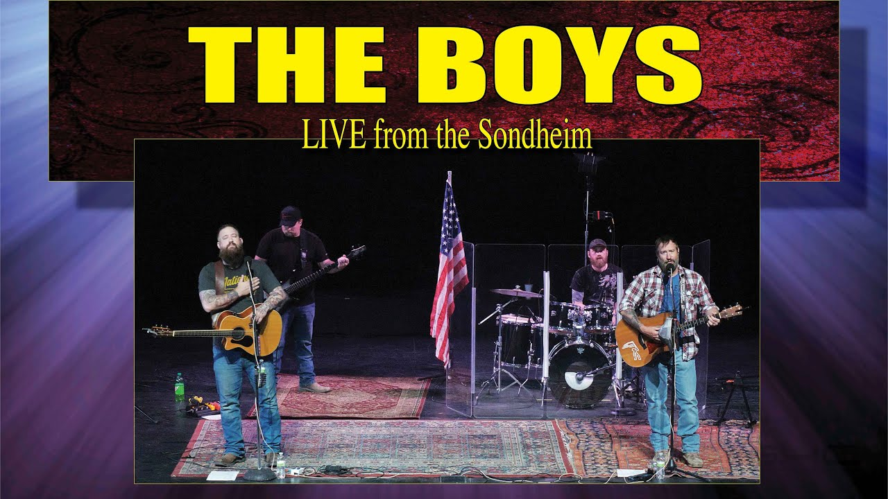 The Boys • LIVE from the Sondheim • May 7, 2020 • Streaming resolution