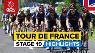 Tour de France 2021 Stage 19 Highlights