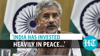 'Peace process must be Afghan-led, owned & controlled…': S Jaishankar