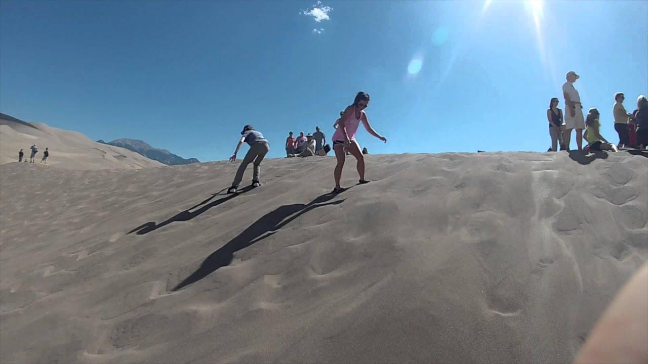 Sand Boarding Great Sand Dunes National Park