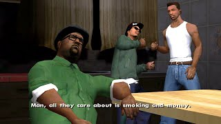 GTA San Andreas Gameplay episode 4 Cleaning the hood Mission