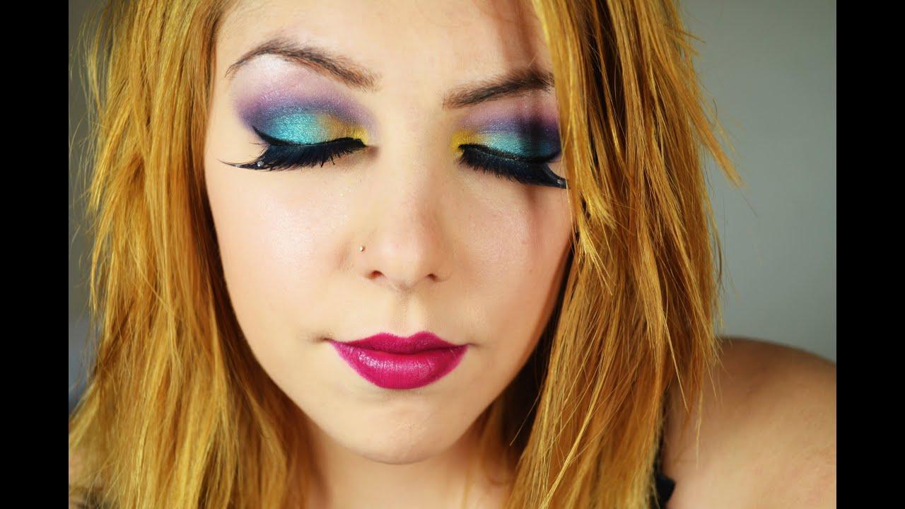 tuto maquillage color - Colori Maquillage