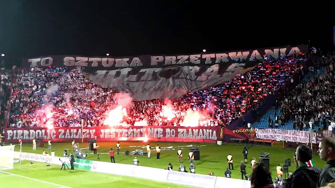 Legia Warszawa 22.10.2012 Oprawa [HD