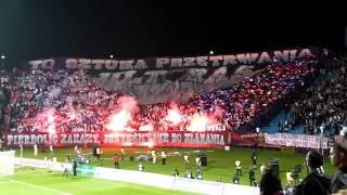 Pogoń Szczecin - Legia Warszawa 22.10.2012 oprawa [HD]