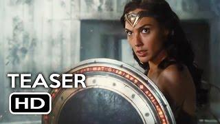 Justice League Trailer #1 Wonder Woman Teaser (2017) Gal Gadot, Ben Affleck Action Movie HD