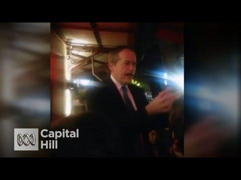 Bill Shorten's impassioned speech in Sydney pub