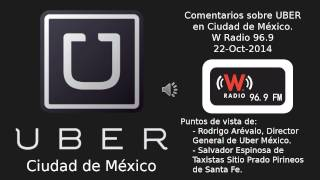 UBER en Ciudad de México - W Radio 96.9