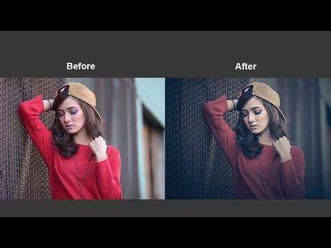 Cinematic Color Grading Photoshop Tutorial