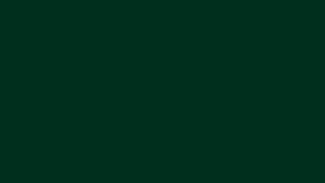 Цвет Тёмно-зелёный #013220 (Full HD) 🎨 - YouTube