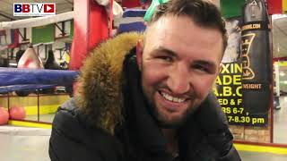 HUGHIE FURY SPECIAL: FIRST DAY BACK IN CAMP AND AT A NEW GYM