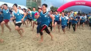 Tin đôi chân trần trên biển Đà Nẵng