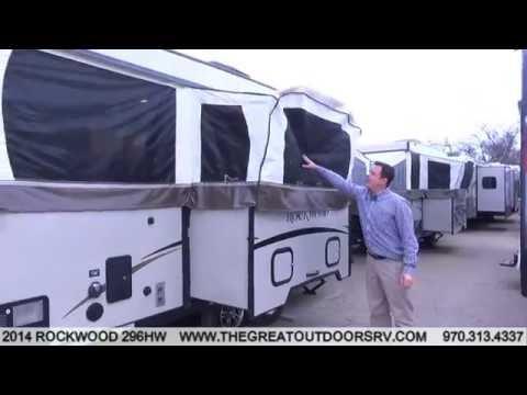 2014 ROCKWOOD 296HW (U739) - YouTube