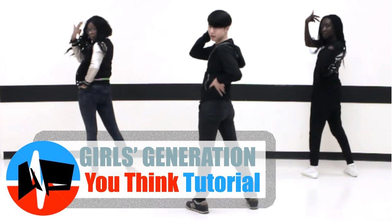 underground pulse snsd 소녀시대 you think mirrored dance tutorial youtube