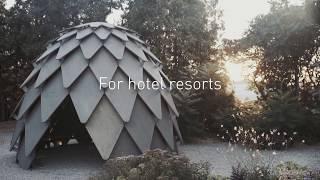Pinecone - the outdoor gazebo