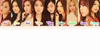 Girls' Generation (소녀시대) - Goodbye Lyrics [Color Coded/ENG/ROM] Mp3