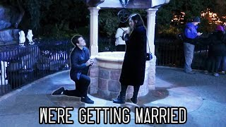The title pretty much says it all! But yes, Tyler proposed and here is our proposal vlog :). We're getting married! Also no, i am not pregnant! if i look heavier it is ...