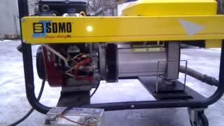 Подключение сетевого газа к бензиновому генератору SDMO 14 HP