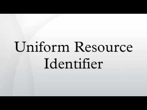 Uniform Resource Identifier