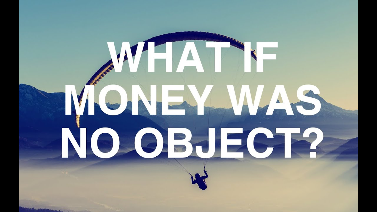 What If Money Was No Object? - Alan Watts - YouTube