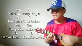🔴Dedeku Sayang Versi ukulele||Lion and Friends||Chord dan Lirik