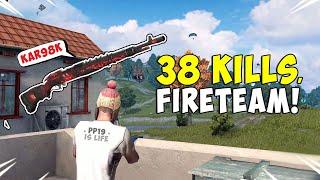 """38 KILLS! Insane Fireteam Win!"" (ROS Sniper Gameplay)"