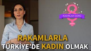 Rakamlarla Türkiye'de kadın olmak...