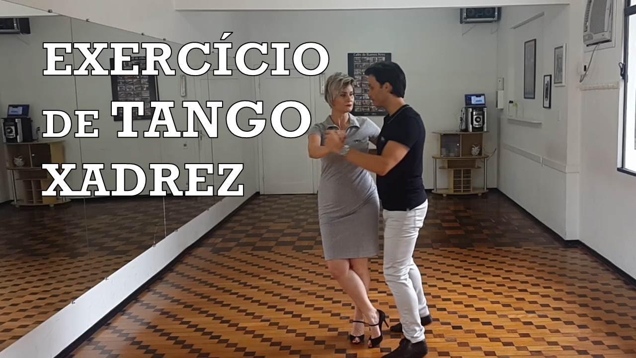 Exercício de Tango Xadrez Dance Mais Online 06/366