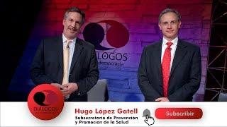 Diálogos por la democracia con John Ackerman y Hugo López Gatell