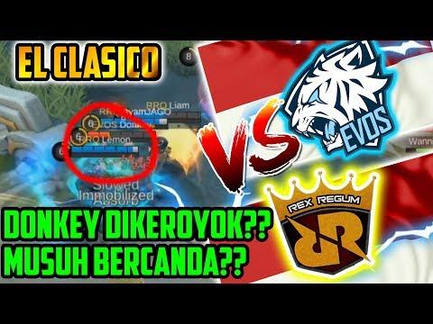 EVOS VS RRQ!! DONKEY DIKEROYOK?? RRQ BERCANDA?? M1 WORLD CHAMPIONSHIP Match 1 - Mobile Legends
