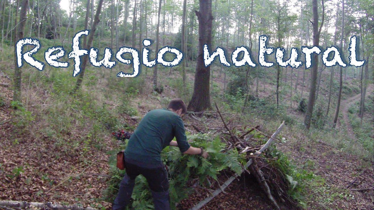 Como hacer un refugio natural de supervivencia youtube - Como construir un tejado ...
