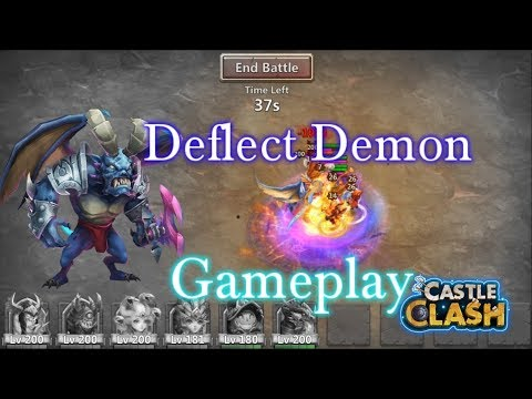 Castle Clash Deflects Archdemon Gameplay Day 2_ Best Demon Ever
